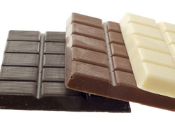 Risk of chocolate poisoning is higher if dark chocolate has been consumed