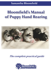 puppy rearing by Samantha Bloomfield