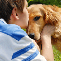 We need to teach our children to respect that their dog may not want to be hugged